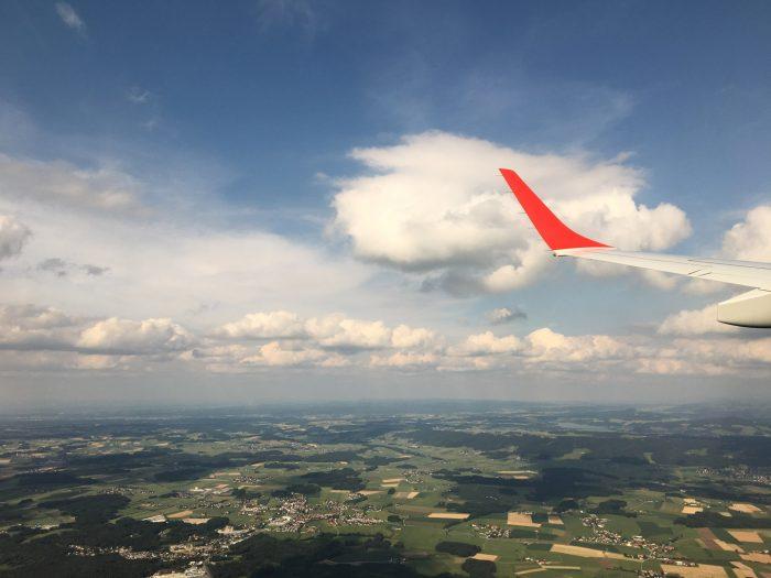 Agile Flugbuchung nach Salzburg