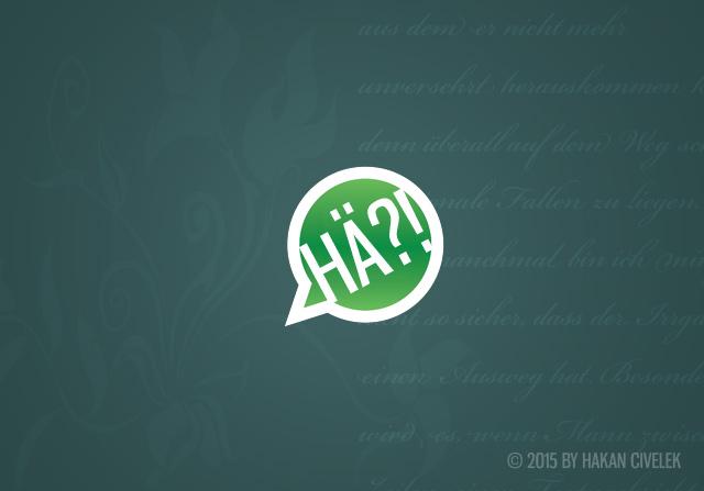 Weibliche Kommunikation oder wie eine einfache Frage als Kurzgeschichte endete