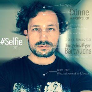2015 Selfie mit Bart