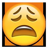 Überdrüssiges Gesicht