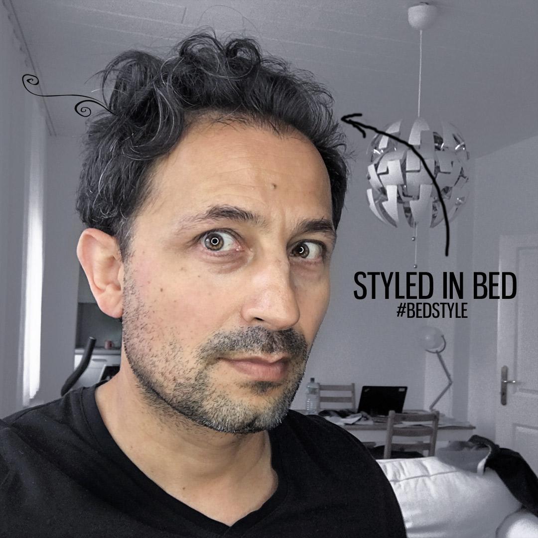 BedStyle - Haare vom Bett gemacht