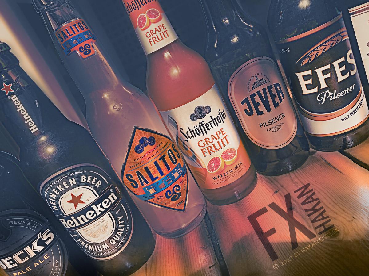 Alkohol Bier Flaschen Trinken