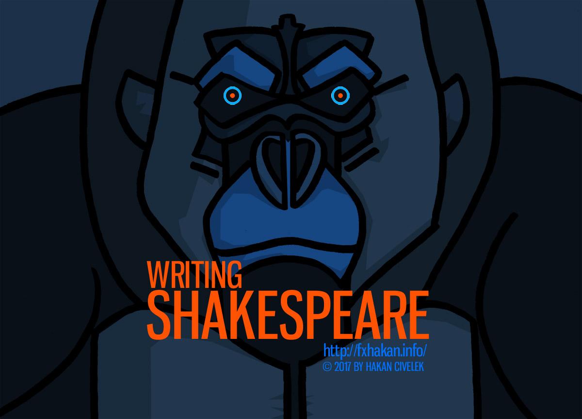 Shakespeares Gorilla by fxhakan
