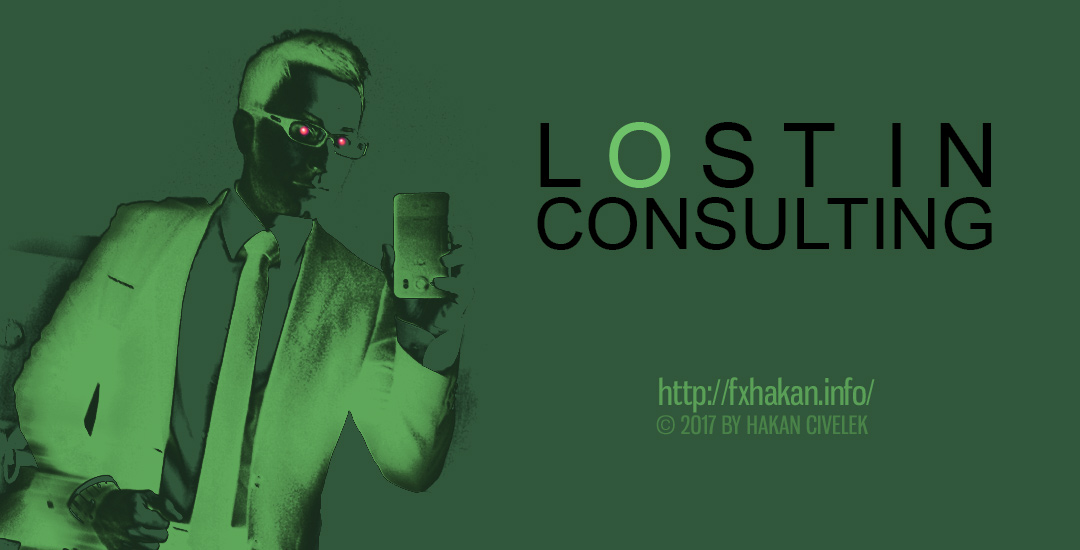 Lost in Consulting Rot Grün Excel-Listen